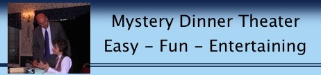 Mystery Dinner Theater Ad