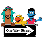One Way St. logo