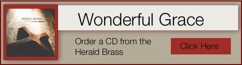 Wonderful Grace CD advertisement